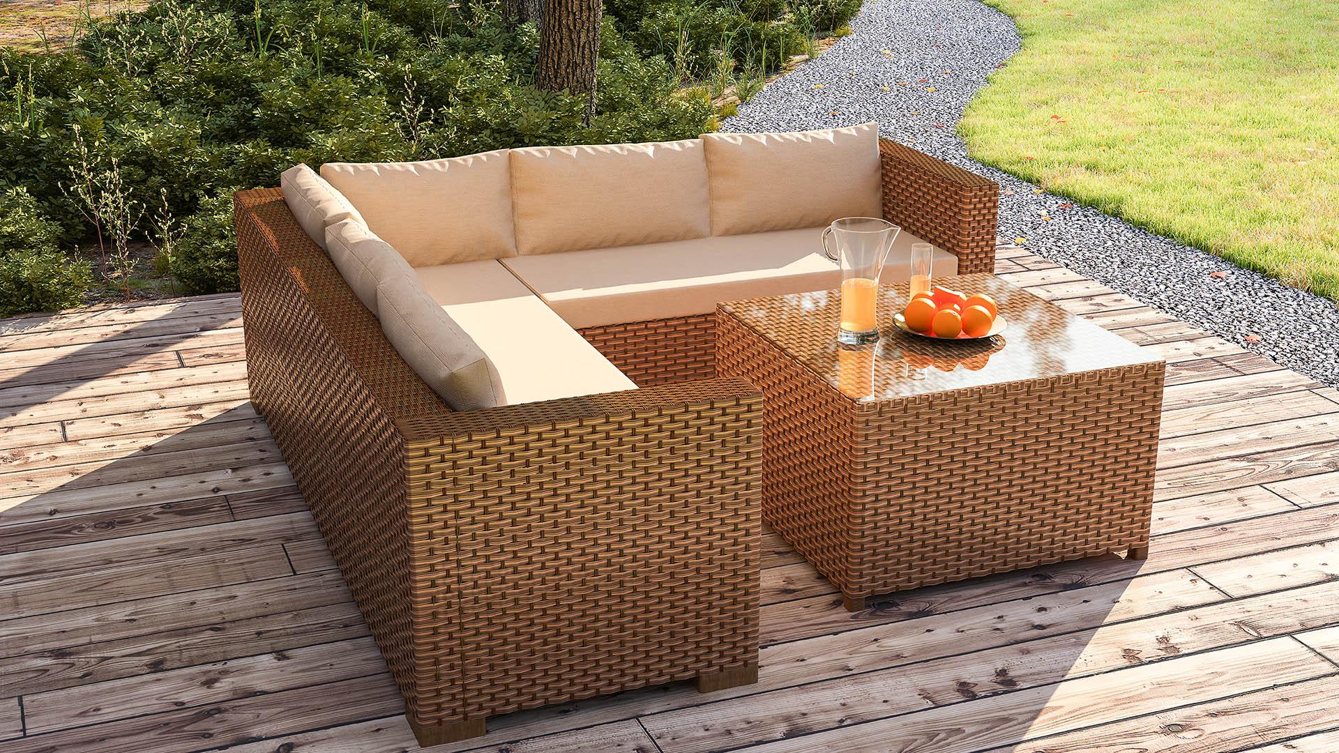Modern Bahçe mobilyası